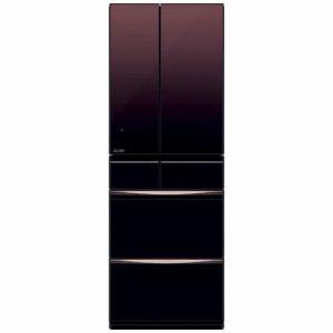 三菱 MR-MX50E-ZT 6ドア冷蔵庫(503L・フレンチドア) MXシリーズ グラデーションブラウン
