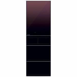 三菱 MR-MB45E-ZT 5ドア冷蔵庫(451L・右開き) MBシリーズ グラデーションブラウン