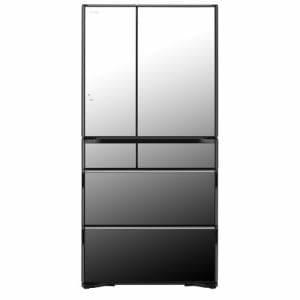 日立 R-WX74K-X 6ドア冷蔵庫(735L・フレンチドア) クリスタルミラー