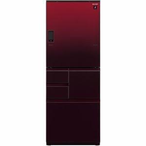 シャープ SJ-WA50E-R 5ドア冷蔵庫 (502L・どっちもドア) グラデーションレッド系