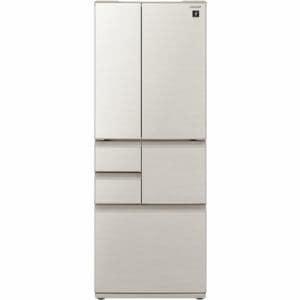 シャープ SJ-F502E-S 6ドア冷蔵庫(502L・フレンチドア) シルバー系