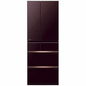 三菱 MR-WX60E-BR 6ドア冷蔵庫(600L・フレンチドア) クリスタルブラウン