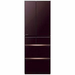 三菱 MR-WX52E-BR 6ドア冷蔵庫(517L・フレンチドア) クリスタルブラウン