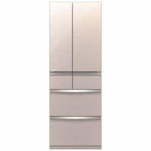 三菱 MR-WX52E-F 6ドア冷蔵庫(517L・フレンチドア) クリスタルフローラル