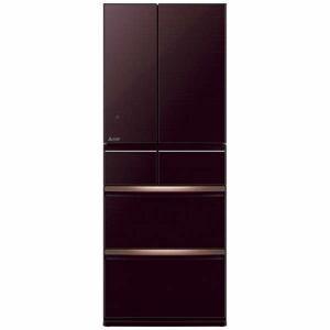 三菱 MR-WX47LE-BR 6ドア冷蔵庫(470L・フレンチドア) クリスタルブラウン