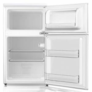 YAMADASELECT(ヤマダセレクト) YRZC09G1(W) ヤマダ電機オリジナル 直冷式冷蔵庫 (90L)