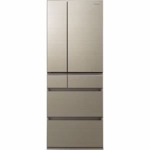 パナソニック NR-F605HPX-N 6ドア冷蔵庫(600L・フレンチドア) アルベロゴールド