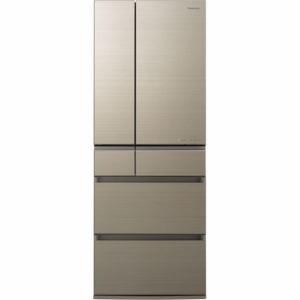 パナソニック NR-F555HPX-N 6ドア冷蔵庫(550L・フレンチドア) アルベロゴールド