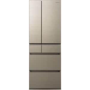パナソニック NR-F505HPX-N 6ドア冷蔵庫(500L・フレンチドア) アルベロゴールド