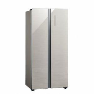AQUA AQR-SBS45J(S) 冷蔵庫 (449L・フレンチドア) ヘアラインシルバー