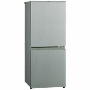 AQUA AQR-13J (S) 2ドア冷蔵庫(126L・右開き)ブラッシュシルバー