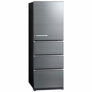 AQUA AQR-V43JL(S) 4ドア冷蔵庫(430L・左開き) チタニウムシルバー