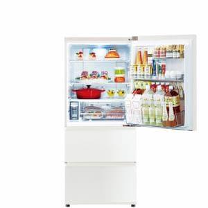 AQUA AQR-SV27J(W) 冷蔵庫 (272L・右開き) ミルク