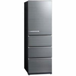 アクア AQR-V46J(S) 4ドア冷蔵庫(458L・右開き) チタニウムシルバー