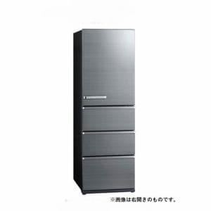 アクア AQR-V46JL(S) 4ドア冷蔵庫(458L・左開き) チタニウムシルバー