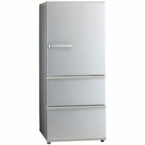 冷蔵庫 アクア 一人暮らし AQUA AQR-27J(S) 3ドア冷蔵庫(272L・右開き) ミスティシルバー