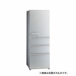 AQUA AQR-36JL(S) 4ドア 冷蔵庫(355L・左開き) ミスティシルバー