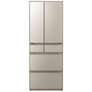 日立 R-HX60N XN 6ドア冷蔵庫 (602L・フレンチドア) ファインシャンパン