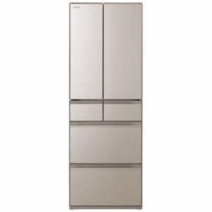 日立 R-HW48N XN 6ドア冷蔵庫 (475L・フレンチドア) クリスタルシャンパン