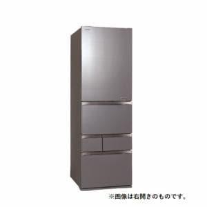 東芝 GR-S470GZL(ZH) 5ドア冷蔵庫(465L・左開き) VEGETA(べジータ) GZシリーズ アッシュグレージュ