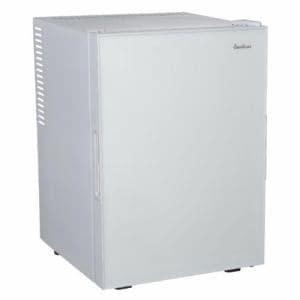 三ツ星貿易 ML-40G-W 寝室用冷蔵庫 40L ホワイト