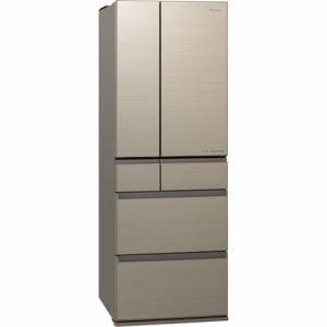 パナソニック NR-F506HPX-N 6ドアパーシャル冷蔵庫 (500L・フレンチドア) アルベロゴールド