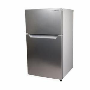 YAMADA SELECT(ヤマダセレクト) YRZC09H1 2ドア冷蔵庫 (87L・右開き) シルバー