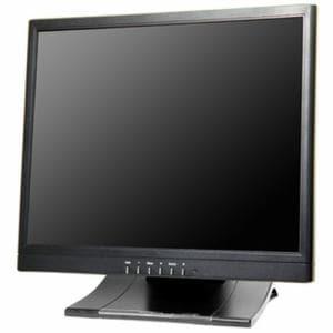 エーディテクノ 15型HDMI搭載スクウェア型マルチインターフェース液晶モニター クロ SN15TS