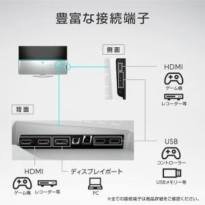 DELL AW5520QF-R ゲーミングモニター ALIENWARE 54.6インチ 3840×2160