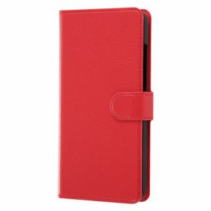 レイ・アウト HUAWEI P30 lite/Premium 手帳 シンプル マグネット /レッド RT-HP30LELC1/R