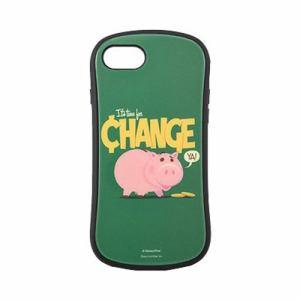グルマンディーズ DN-640D ハイブリッドガラスケース iPhone 8/7/6s/6 トイ・ストーリー4 ハム