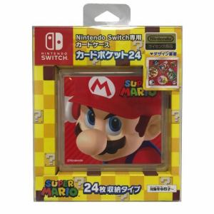 マックスゲームズ Nintendo Switch 専用カードポケット24 スーパーマリオ2