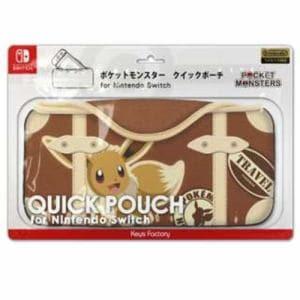 キーズファクトリー CQP-008-2 ポケットモンスター クイックポーチ for Nintendo Switch イーブイ