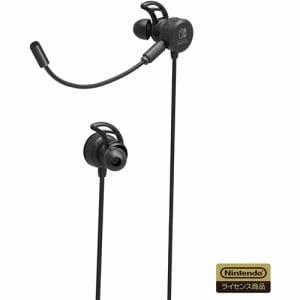 ホリ NSW-198 ゲーミングヘッドセット インイヤー for Nintendo Switch ブラック