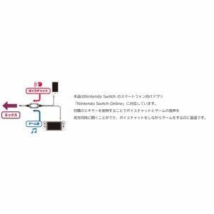 ホリ NSW-159 ゲーミングヘッドセット インイヤー for Nintendo Switch ネオンブルー・ネオンレッド