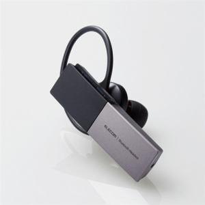 エレコム LBT-HSC20MPSV Bluetooth(R)ハンズフリーヘッドセット シルバー