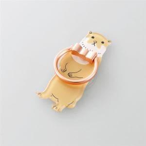 エレコム P-STRAMOTT フィンガーリング(アニマル) カワウソ