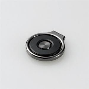 エレコム P-STROTBK フィンガーリング(ワンタッチ) ブラック