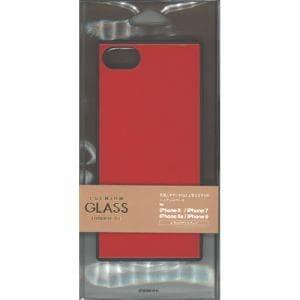 ラスタバナナ 5203IP747HB iPhone8/7/6s/6共用ハイブリッドケース   レッド