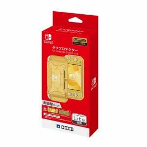 ホリ NS2-054 タフプロテクター for Nintendo Switch Lite   クリア×イエロー