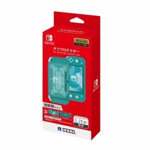 ホリ NS2-055 タフプロテクター for Nintendo Switch Lite   クリア×ターコイズ