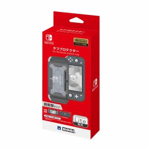 ホリ NS2-056 タフプロテクター for Nintendo Switch Lite   クリア×グレー