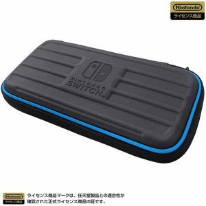 ホリ NS2-015 タフポーチ for Nintendo Switch Lite   ブラック×ブルー