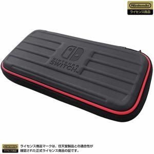 ホリ NS2-016 タフポーチ for Nintendo Switch Lite   ブラック×レッド