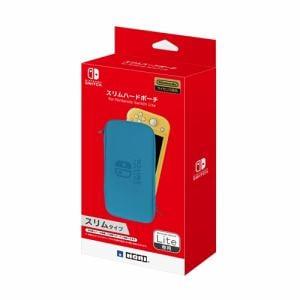 ホリ NS2-048 スリムハードポーチ for Nintendo Switch Lite   ブルー