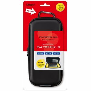 ナカバヤシ SZC-SWL01BK Nintendo Switch Lite用プロテクトケース   ブラック
