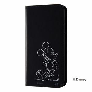 レイ・アウト iPhone 11 (6.1インチ) ディズニー/手帳ホットスタンプ/ミッキー RT-DP21I/MK