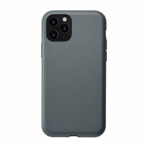 CCCフロンティア iPhone 11 Pro (5.8インチ) ケース Smooth Touch Hybrid Case blue gray UNI-CSIP19S-1STBG