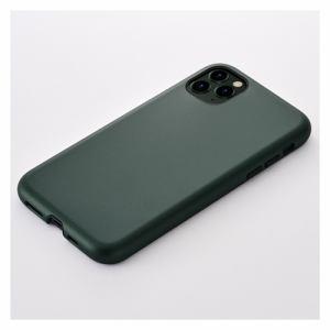CCCフロンティア iPhone 11 Pro (5.8インチ) ケース Smooth Touch Hybrid Case green UNI-CSIP19S-1STGR