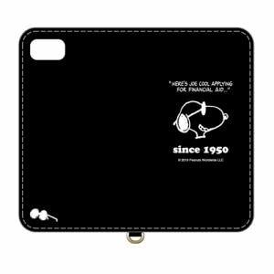 グルマンディーズ SNG-447B ピーナッツ iPhone8/7/6s/6対応フリップカバー ジョー・クール
